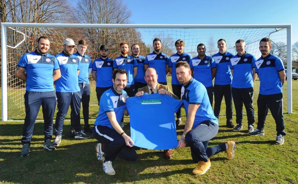 Stafford Perkins Sponsors Local Team